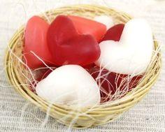 Heart soaps
