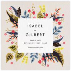 Egret Garden (Invitation) - Paperless Post