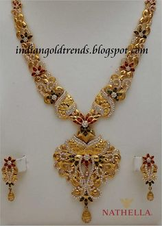 Latest Indian Gold and Diamond Jewellery Designs: December 2012
