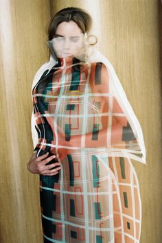 thisispaper: Saina Koohnavard explores how pattern and colour can deceive the…