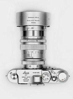"Leica IIIc Germany Ernst Leitz Wetzlar camera + ""Red scale"" Elmar | A Dapper Designer | Scoop.it"