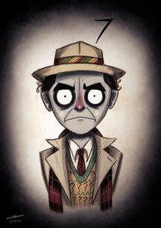 "The Seventh Doctor | Community Post: The ""Doctor Who""/""Nightmare Before Christmas"" Mash-Up You Always Wanted"