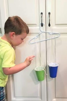 Today's activity is so simple to setup, but can spark a ton of learning about science! This easy hanger balance activity comes from Michelle, a member of our Activity Room activity planning service. The Activity Room is my way of providing you with something easy to do with your toddler or preschooler, week after week. I plan out the months and weeks so that you get a variety of activities from gross motor to sensory to craft and art projects. Some are a little more advanced, while others...