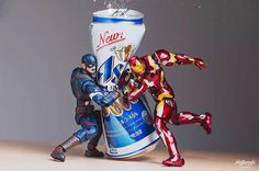 Japanese photographer Hot.kenobi plays with his action toys and uses photography to tell their entertaining stories