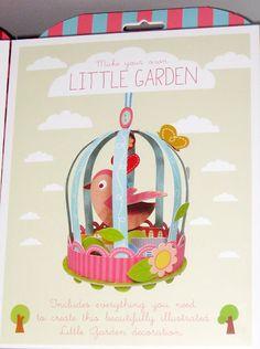 Kit en papel Little garden