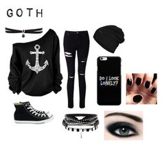"""""""Goth"""" by the-shadow371 on Polyvore"""