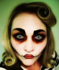 20 freaky face ideas for Halloween