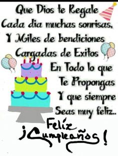 ideas birthday wishes quotes thoughts for 2019 Happy Birthday Wishes Spanish, Happy Bday Wishes, Happy Birthday Ecard, Birthday Quotes For Her, Birthday Cards For Brother, Happy Birthday Celebration, Birthday Wishes Quotes, Happy Birthday Pictures, Birthday Songs