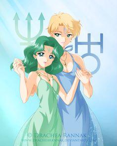 Princesses Neptune and Uranus