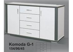 GREY - Komoda G-1 154 CENA 559ZL WIKI MEBLE