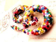 Sprinkle Swirl Spiral Gauges by sweetlobe on Etsy