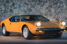 【スライドショー】イタリアの「デ・トマソ・パンテーラ」1974年モデル