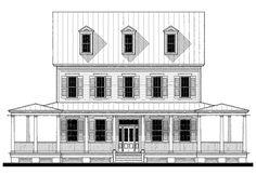 Soper (133187) House Plan (133187) Design from Allison Ramsey Architects