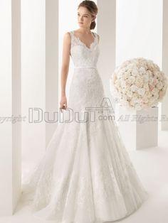 Over Hip Lace Scalloped-edge Brush Train Sashes Wedding Dresses With Semi Transparent, Wedding Dresses, Wedding Gowns, Bridal Dresses