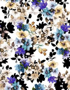 Print your own custom fabric Love Wallpaper, Pattern Wallpaper, Floral Flowers, Paper Flowers, Textures Patterns, Print Patterns, Origami, Wallpaper Iphone Disney, Winter Flowers