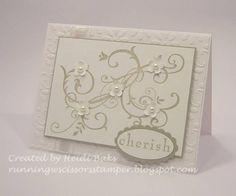 SU Baroque Motifs(R) Card Handmade Wedding Card Stampin' Up Teeny Tiny by  WhimsyArtCards wedding card? sympathy card