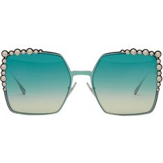 5aaa3d70f7 Fendi Eyewear Can Eye sunglasses ( 620) ❤ liked on Polyvore featuring  accessories
