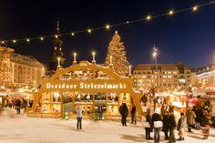 #Schwibbogen (Christmas Arch) at #Dresden #Striezelmarkt. Photo: © City of Dresden / Dittrich