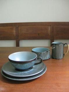 Løvemose Denmark tea trio cup / saucer / by ScandinavianMood