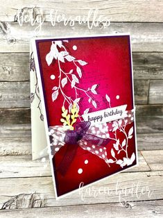 Color Blending, Happy Colors, Happy Birthday Cards, Emboss, Card Stock, Stampin Up, Gift Wrapping, Colours, Bright