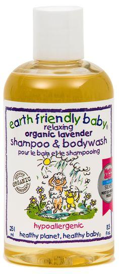 #Earth Friendly Baby #Organic #Shampoo #Bodywash - 3 Fragrances available online at http://www.babycity.co.uk/