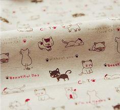 Cotton Linen Fabric Cloth DIY Cloth Art Manual by JolinTsai
