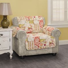Innovative Textile Solutions Patchwork Chair Protector