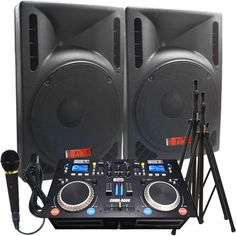 """The Ultimate DJ System - 2400 WATTS! Perfect for Weddings or School Dances - Connect your Laptop, iPod via Bluetooth or play CD's! - 15"""" High Output Powered Speakers - Everything you need to DJ. Start booking your gigs today! - http://djsoftwarereview.com/most-popular-dj-mixers/the-ultimate-dj-system-2400-watts-perfect-for-weddings-or-school-dances-connect-your-laptop-ipod-via-bluetooth-or-play-cds-15-high-output-powered-speakers-everything-you-need-to-dj-start/ #DJMixer, #D"""