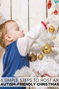 6 Simple Steps to Host an Autism-Friendly Christmas #Christmas #Autism #Autistic #Holidays #AutismAcceptance #AutismAwareness