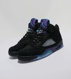 best sneakers a4032 47475 Jordan V  Black Grape  Jordan V, Black Grapes, All Black Sneakers,