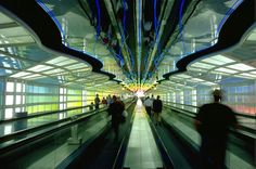 United Airlines Terminal, O'Hare Airport, Chicago