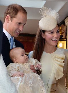 Prince George of Cambridge - HRH Prince George Of Cambridge Is Christened At St James' Palace