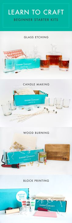 The Perfect Holiday Gift - DIY Starter Sets by #darbysmart