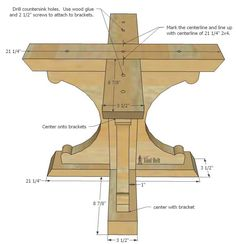 Free woodworking plans to build a chunky french farmhouse style 48 round pedestal table. This table is made from simple lumber from Home Depot. Love the reclaimed wood finish! projects tips woodworking Woodworking Projects That Sell, Woodworking Patterns, Teds Woodworking, Woodworking Crafts, Woodworking Furniture, Popular Woodworking, Woodworking Machinery, Woodworking Classes, Wood Furniture