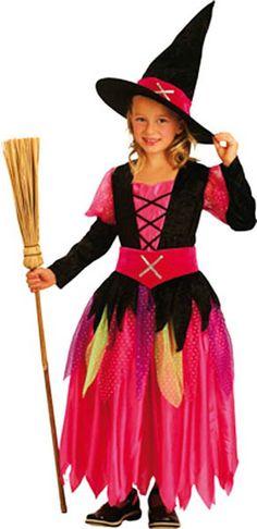 une bien jolie sorcière pour déguiser votre enfant ! http://cbodeco.com/theme-halloween-decoration-a-theme/1395-deguisement-de-jolie-sorciere-8712026869500.html #halloween #enfant #kid #witch #sorciere