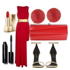"""""""Untitled #188"""" by kola-sara on Polyvore featuring River Island, Yves Saint Laurent, Bobbi Brown Cosmetics, Burberry and Panacea"""