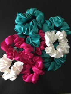 Nouveau Slip Silk Midi cheveux chouchou//cravate//Pompon rose