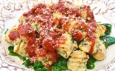 Baked Spinach Gnocchi ...an Italian Favorite Made Gluten-free & Vegan | Plantz St. Culinary Gym