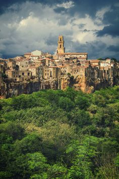 Pitigliano (Tuscany, Italy) by Alex Ingerman