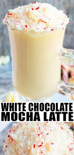 Rich, creamy, quick and easy white chocolate mocha recipe with peppermint, made with simple ingredients and ready in 20 minutes. Perfect for Christmas! Mocha Recipe, Latte Recipe, Coffee Latte, Mocha Coffee, Coffee Mugs, Food Stamps, Coffee Recipes, Yummy Drinks