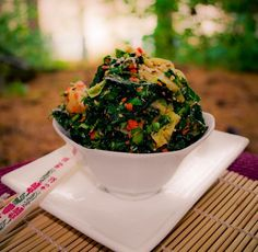 How to build a Raw Kale Salad
