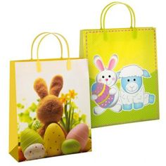 Easter cute fluffy bunnies poundlandeaster poundland easter easter luxury large gift bag easter gifts cards easter negle Images