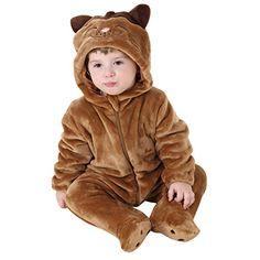Yxjdress Unisex Baby Girls Kigurumi Cat Pajamas Animal Onesies Halloween Cosplay * Want to know more, visit