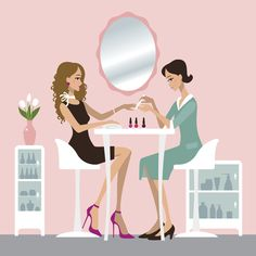 Things To Watch For On Your Next Trip To The Nail Salon We're not asking you to give up your favorite self-care habit, but we are suggesting you watch for certain red flags at your salon. Beauty Hacks For Teens, Ingrown Hair, How To Apply Makeup, Manicure And Pedicure, Beauty Routines, Belle Photo, Makeup Yourself, You Nailed It, Skin Care Tips