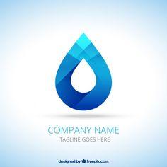 Water drop logo Free Vector                                                                                                                                                                                 More
