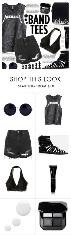 """""""New blood joins this earth!"""" by isabeldizova ❤ liked on Polyvore featuring The Row, H&M, Topshop, JustFab, Hollister Co. and Giorgio Armani"""