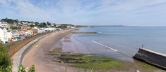 Dawlish Town Beach is two miles long, sandy and close to the town centre - what more could you need? #dawlish #devonbeaches #bluechipholidays