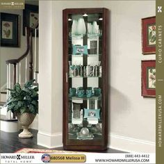Image result for espresso corner tv stand with storage Corner Curio, Corner Storage, Corner, Tv Stand With Storage, Dinning Room, Great Rooms, Cabinet, Mirror Panels, Curio
