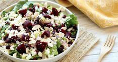 Lisa's Best-Ever Salad Recipe: Healthy Fruit & Feta Shredded Chicken Salad