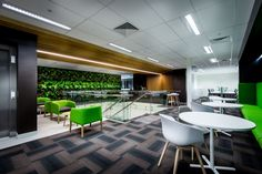 Schneider Electric Company St Louis Operation Gets Upgraded To . Office Space Design, Workplace Design, Office Spaces, Electric Company, Perth, Interior Design, Canteen, Table, Mad Max